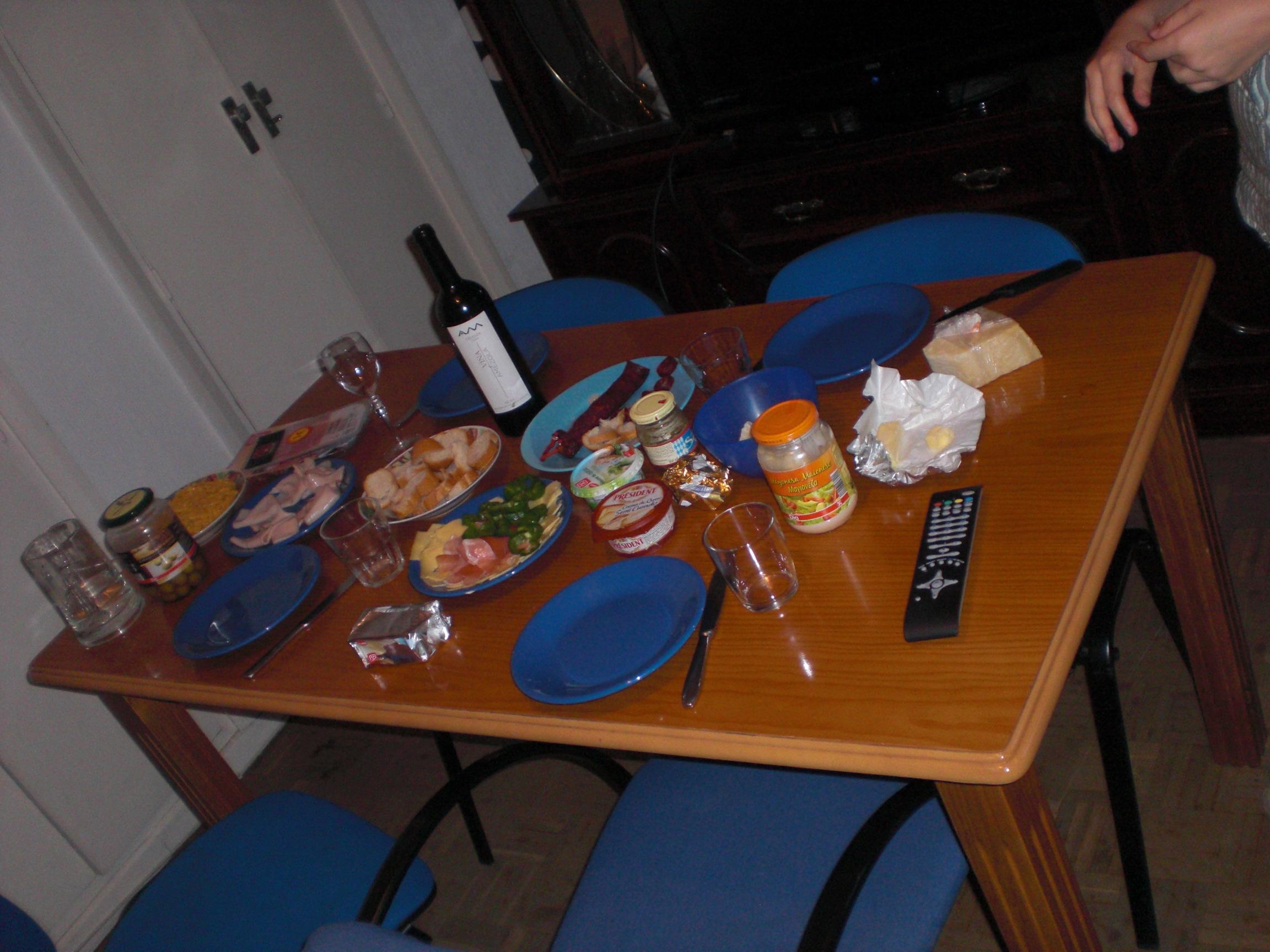 roomie dinner