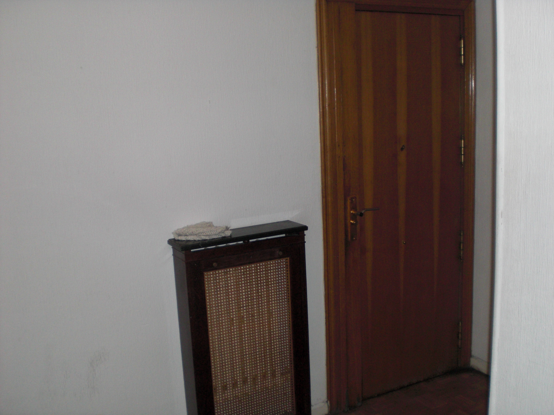 Front door into hallway