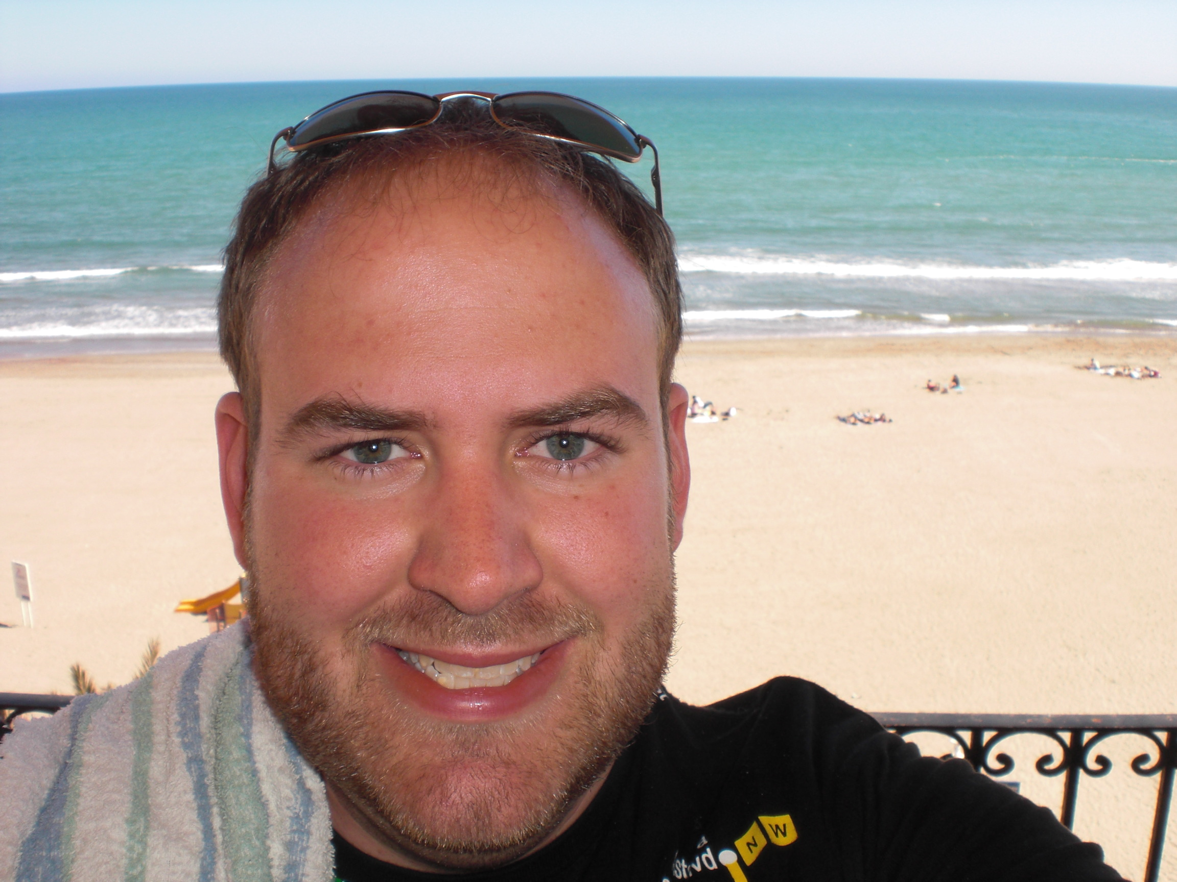 Me on the Balcony!
